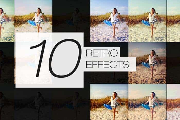 10 Retro Effects
