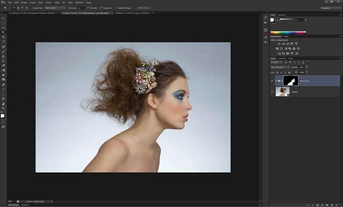 درس مميز جدا How to Retouch and Airbrush Skin in Photoshop