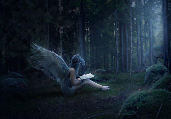 Girl Falling Through The Air Wallpaper 【総まとめ】2014年すごいphotoshopチュートリアル、作り方厳選50個 Photoshopvip