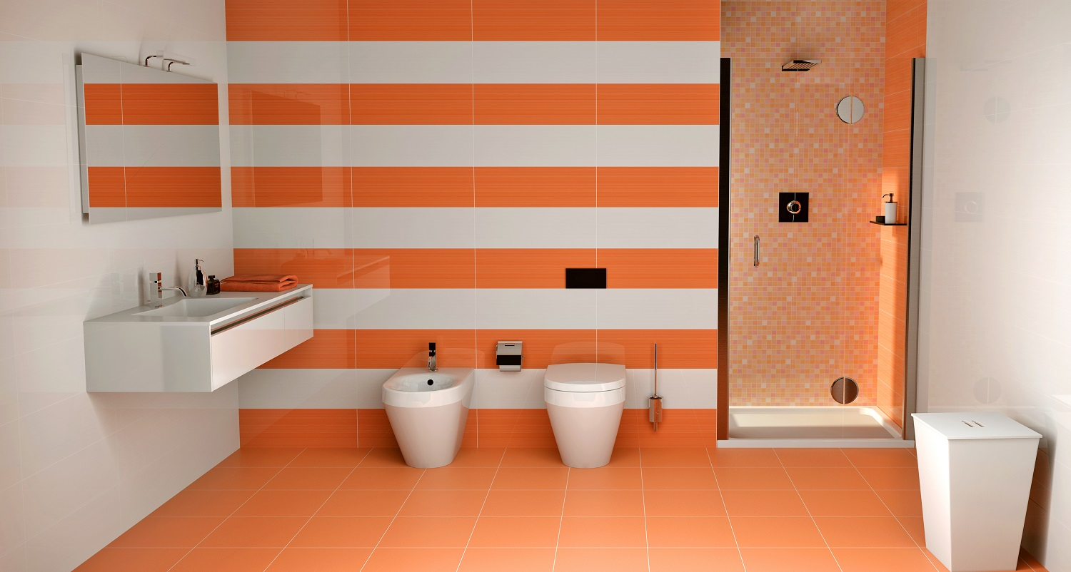 Photos Carrelage Salle De Bain Carrelage Salle De Bain Orange