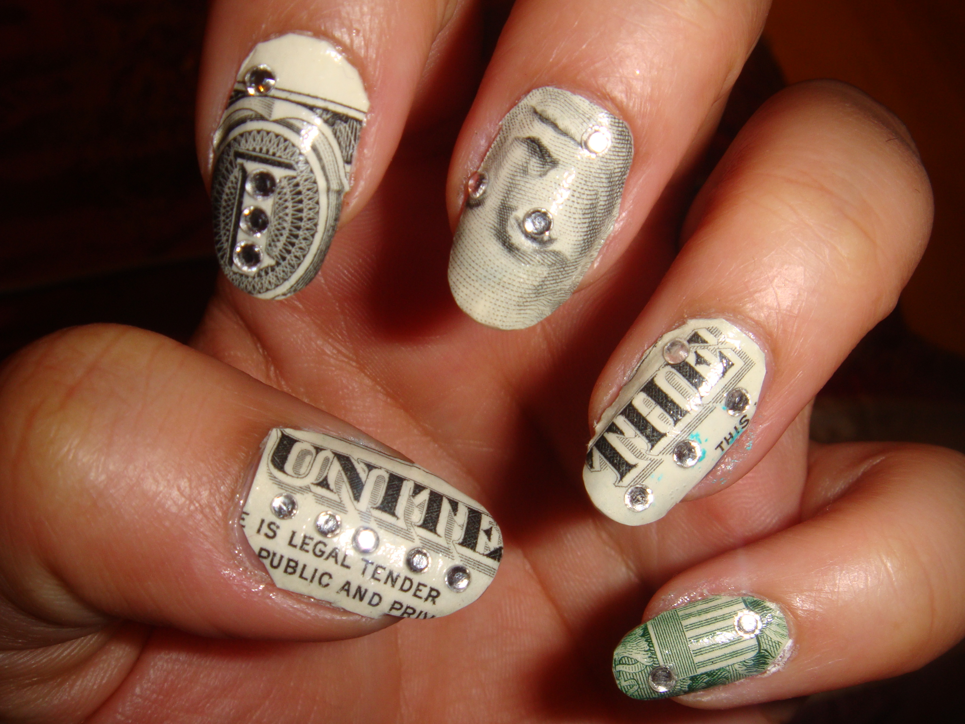 Real Money On Nails