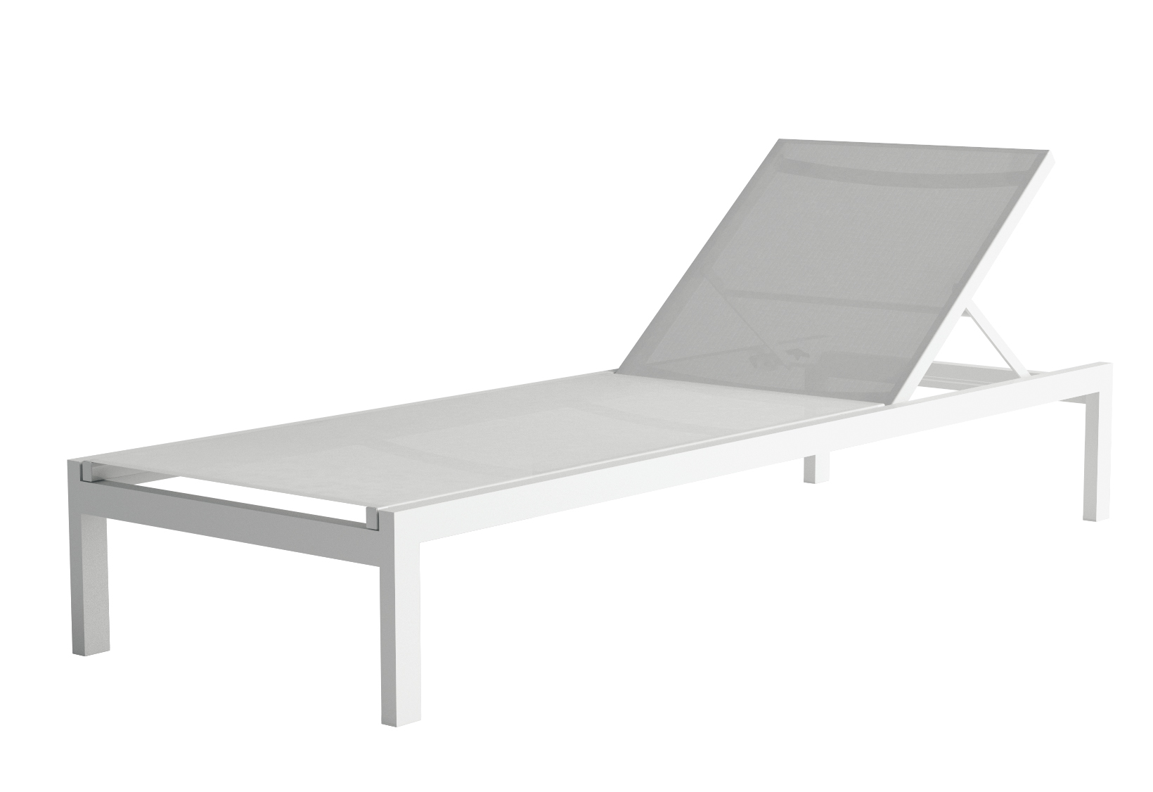 Meuble Milo Alinea Chaise Empilable Milo Coloris Gris Blanc