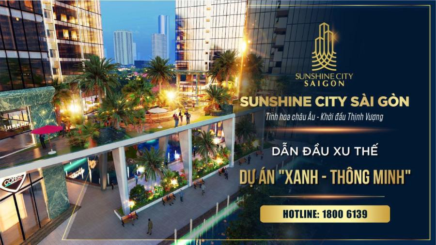 dự án sunshine city saigon