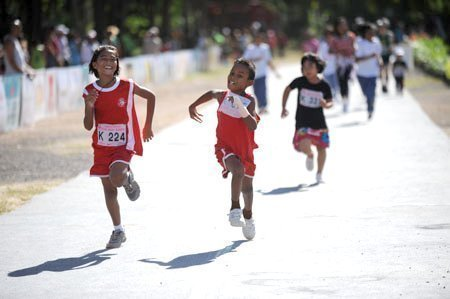 Laguna Phuket International Marathon is fun for runners of all  ages and abilities.