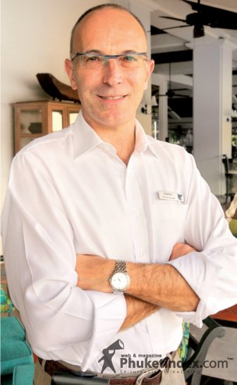 Mr Robert Lohrmann, General Manager of JW Marriott Phuket Resort & Spa