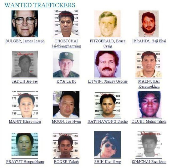 WANTED TRAFFICKERS