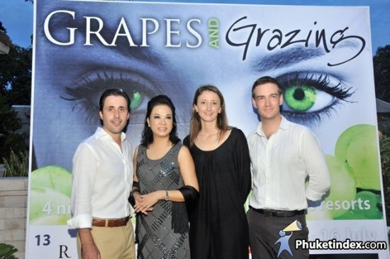Grapes and Grazing Week at Anantara Phuket Villas