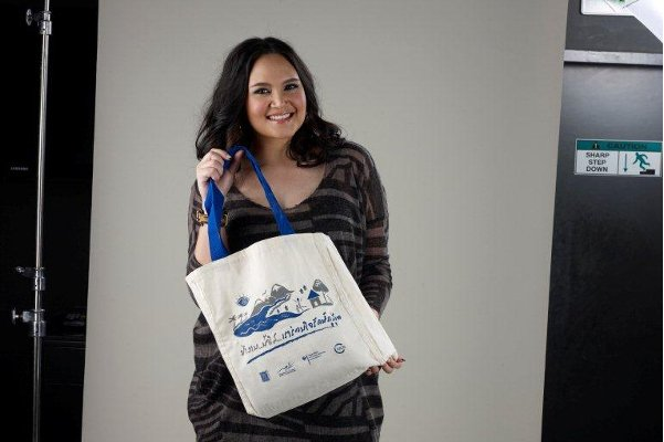 Tata Young Supports Phuket's Plastic Bag Reduction Campaign