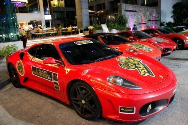 Supercars Zoomed into Phuket for Songkran