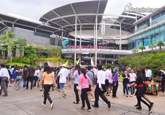 Rescue & Fire drill held at Central Festival Phuket