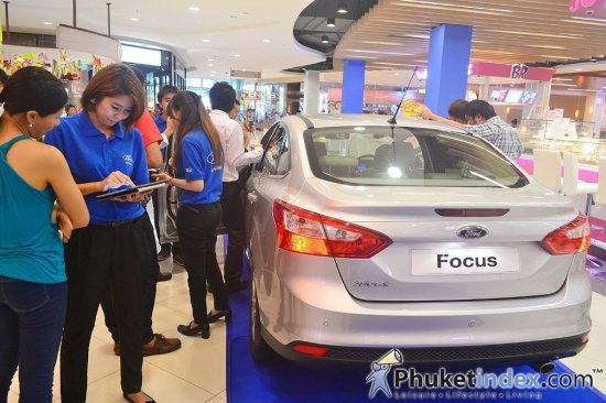 All-New Ford Focus unveiled at Central Festival Phuket