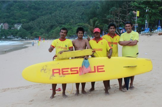Phuket's 2012 Beach Lifeguard Project