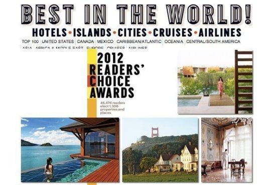 Phuket honored in Condé Nast Traveler's Readers' Choice Awards