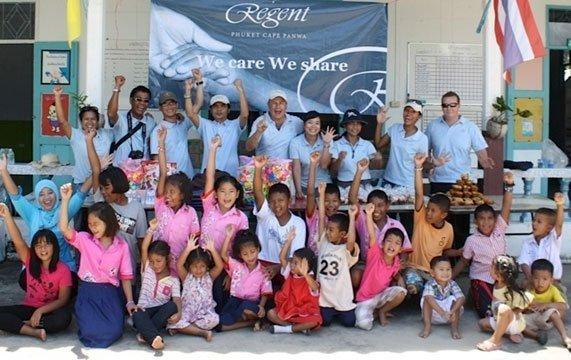 Phuket's Regent donates to remote community in Koh Lone