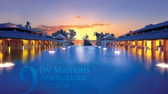 Phuket's JW Marriott Resort's November Facebook Activity