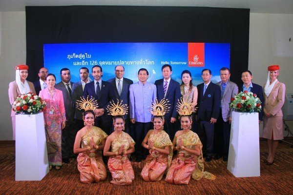 TAT Promotes Inaugural Direct Emirates Airlines Flights From Dubai To Phuket