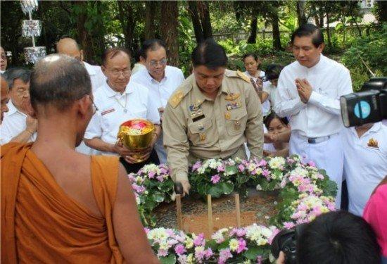 Phuket lays foundation stone of Thamma practice building