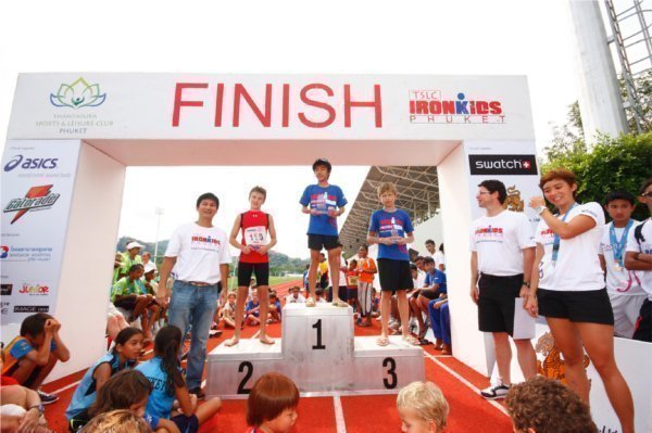 Phuket's Ironkids race sees young athletes go for gold