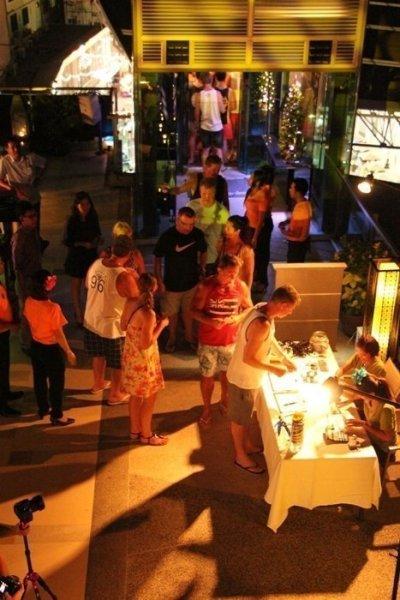 Phuket's First 2013 Sky Salsa on Patong Beach