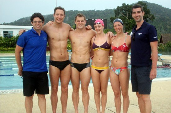 Olympians And World Record Holders Train In Phuket