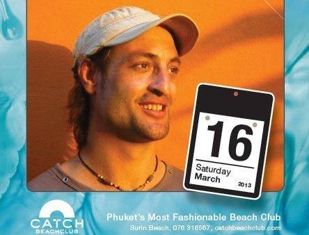 Phuket's Catch Beach club to host Samui favourite DJ Adam Matson