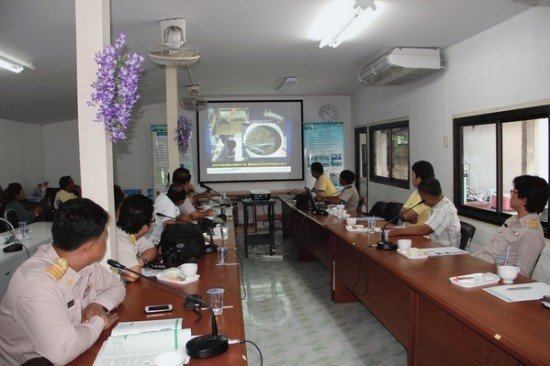 Phuket's research into Magnetic Fields Waste Water Treatment Systems