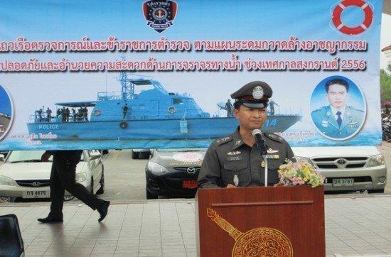 Phuket Marine Police increase presence during Songkran