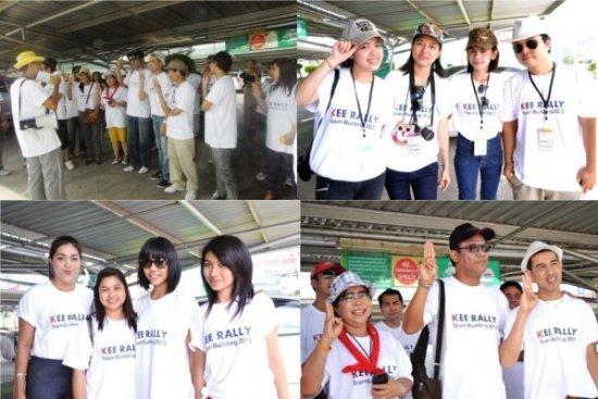Phuket Resort Executives go on Happy Rally Adventure