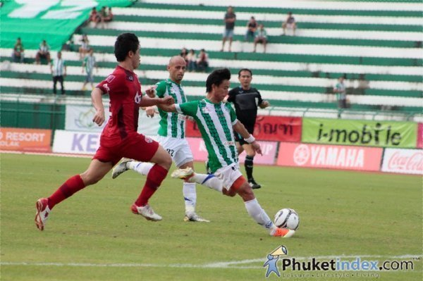Phuket play out a goalless 40 minutes