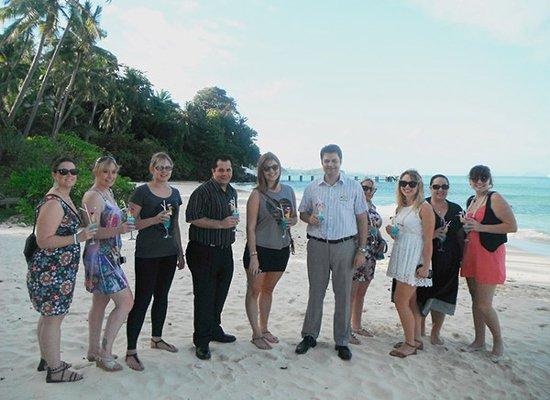 Cape Panwa Hotel Phuket hosts Flight Centre retail agents