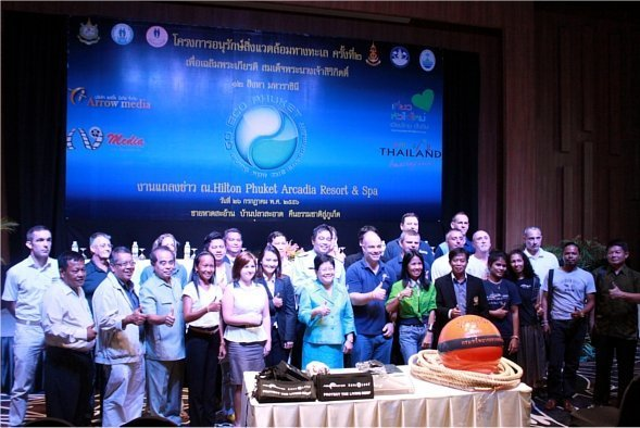 Press conference held for 2nd GO-ECO Phuket activity