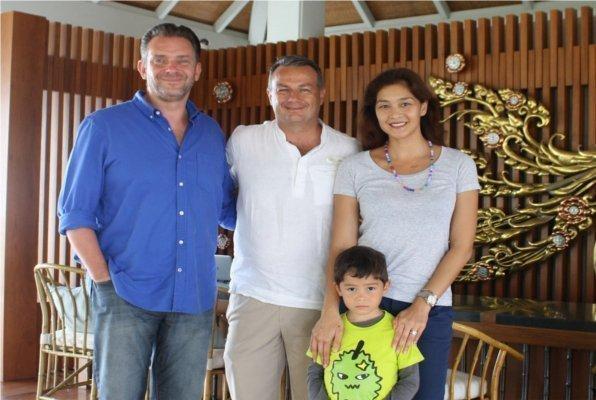 Regent Phuket welcomes Thai Model and family