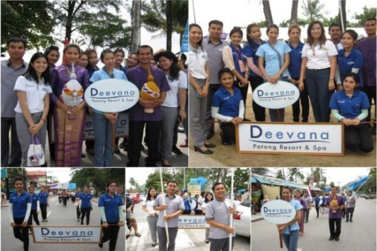 Phuket's Deevana Resort partakes in Queen's Birthday Parade