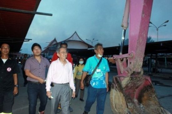 Phuket PAO Sends Team to Assist SuperCheap Disaster