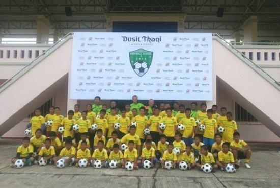 Dusit Thani Phuket hosts 2013 Football School