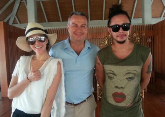 Regent Phuket welcomes top model/actress Sririta Jensen