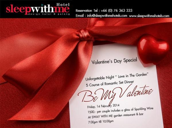 Perfect Valentine's Day at Sleep With Me Hotel Phuket