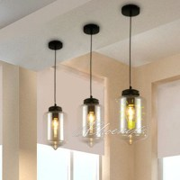 LOFT Glass Jar Pendant Lighting 7750 : Browse Project ...