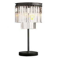 North Iron and Crystal Table Lamp 7492 : Free Ship! Browse ...