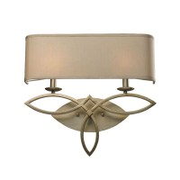 Antique Country Linen Shades Wall Sconce 9079 : Browse ...