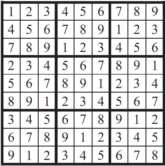 Mathematicians Solve Minimum Sudoku Problem physics4me