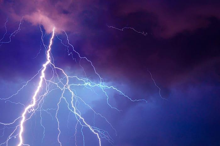 Lightning creates radioactive isotopes \u2013 Physics World
