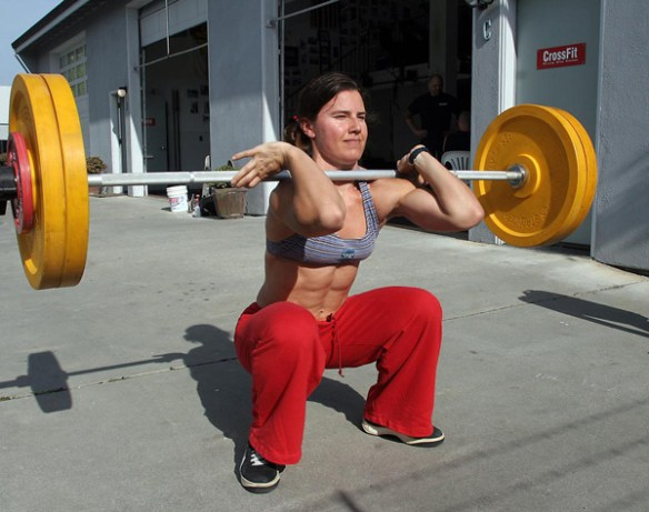crossfit-musculation-squat