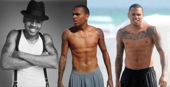 chris-brown-biographie-evolution-corps-torse-nue