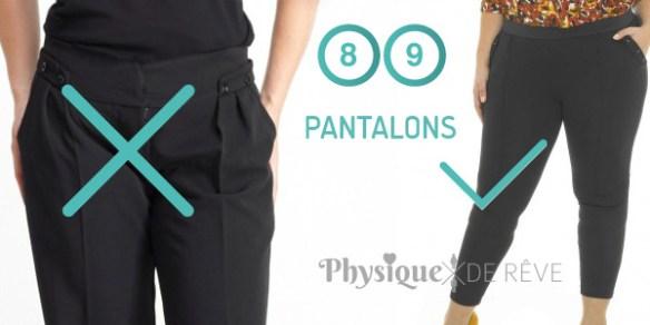choix pantalon cacher son ventre