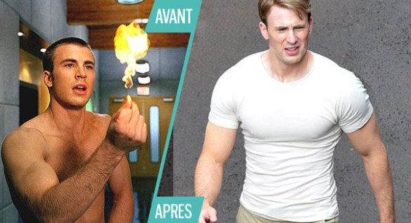 chris-evans-super-hero-avant-apres