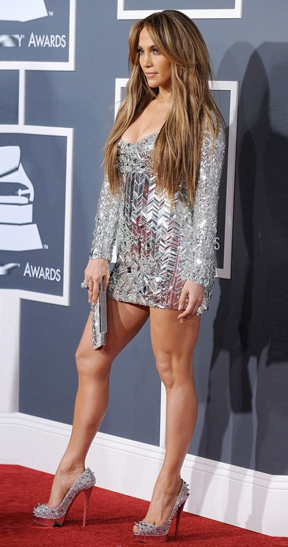 les jambes sexy de Jennifer lopez