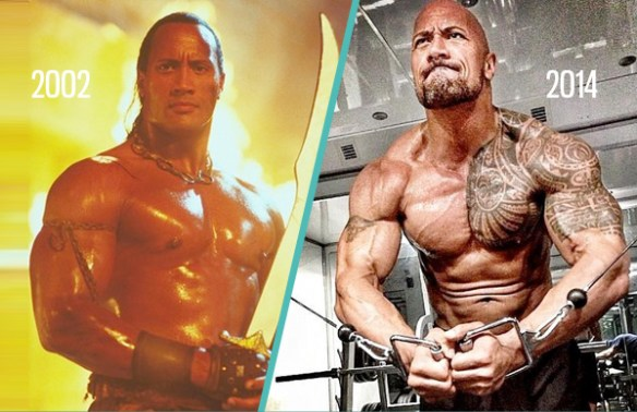 dwayne-johnson-the-rock-avant-apres-entrainement