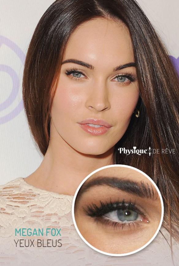 Yeux ambres physique de r ve - Actrice yeux bleus ...