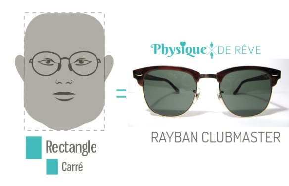 Ray-Ban-visage-carre-club-master